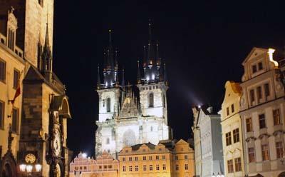 taki sobie obrazek Pragi