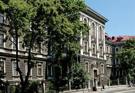 Budynek główny Katedry Patomorfologii
